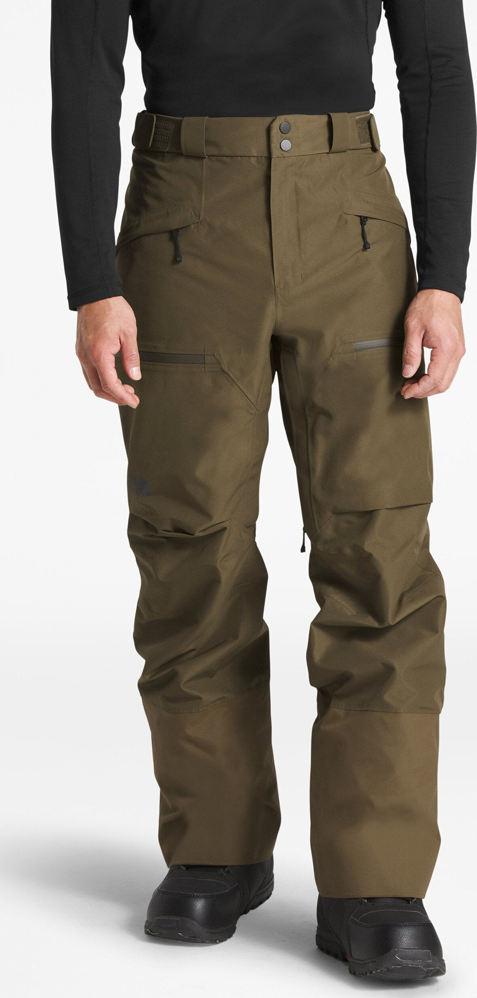 S//REG Black The North Face Mens Powder Guide Pant