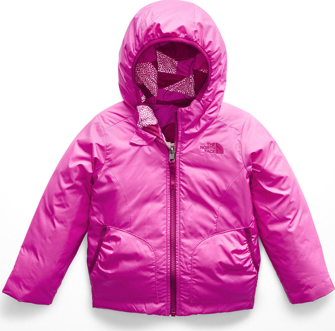 28d6713f655f The North Face Toddler Girl s Reversible Perrito Jacket