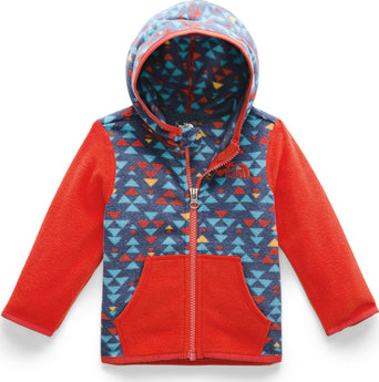 6754910ce5c6 lazy-loading-gif The North Face Glacier Hoodie - Infant Shady Blue Mini  Aztec Print