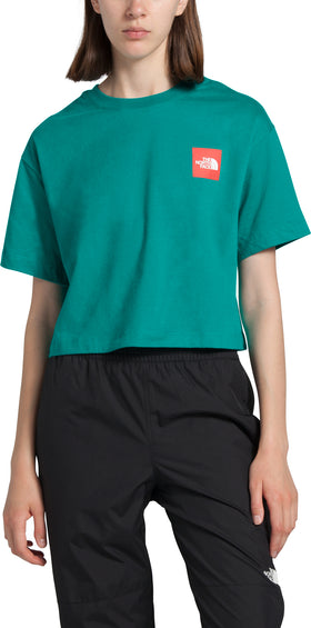 The North Face S/S Cropped Cotton Tee - Women's