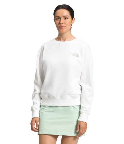 The North Face Parks Slightly Cropped Cre- Women's