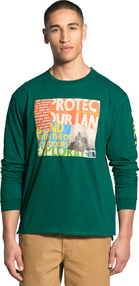 The North Face L/S Rogue Graphic Tee - Men's