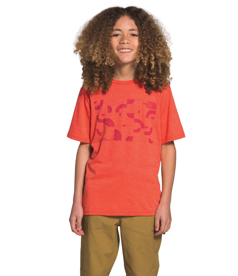 The North Face S/S Tri-Blend Tee - Boys