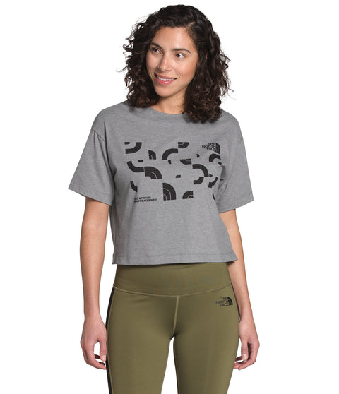 The North Face Dome Jumble Short Sleeve Cropped Tee - Women's