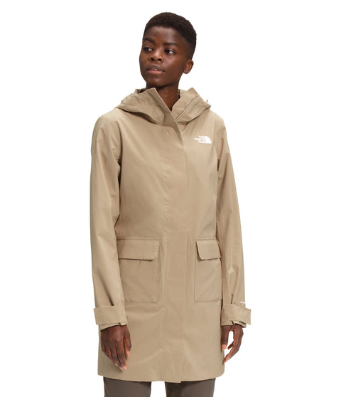 The North Face Parka imperméable City Breeze II - Femme