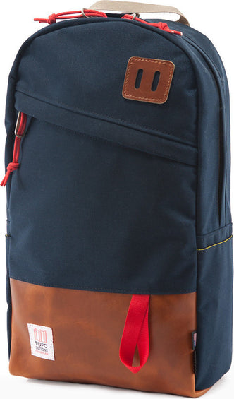 Topo Designs Daypack Navy Leather 22L