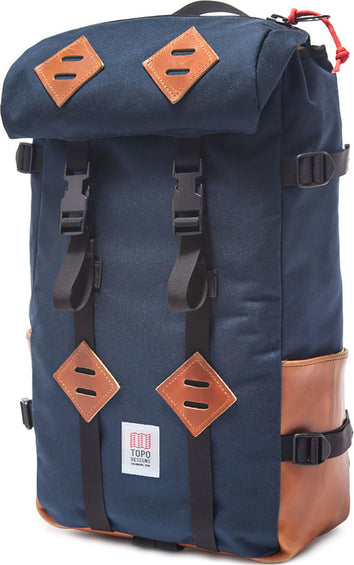 Topo Designs Klettersack Navy Leather 22L