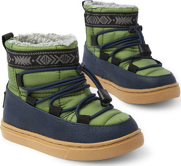 9cbbb5d1fb3 Toms Toddler s Light Pine Quilted And Synthetic Leather Water-resistant  Tiny Alpine Boots