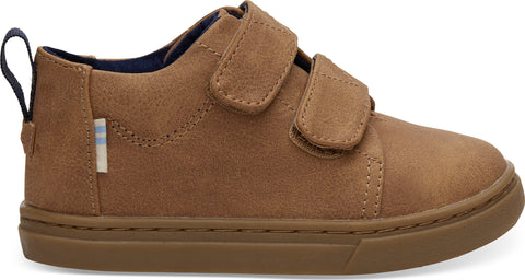 TOMS Light Twig Synthetic Suede Tiny Lenny Mid Sneakers - Toddler