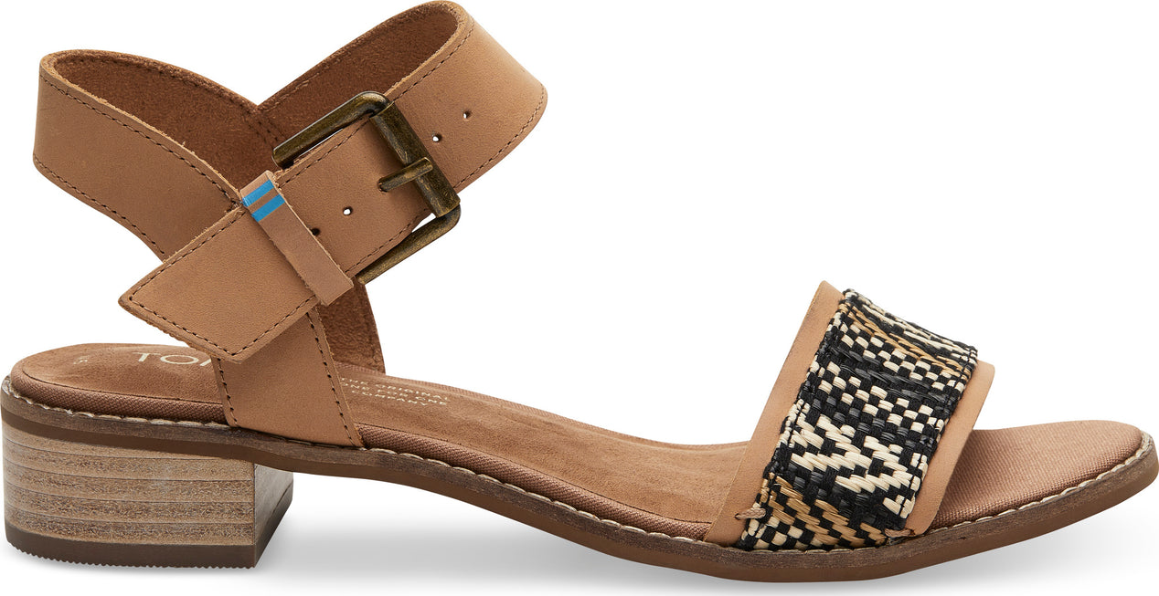 14c71e3cac Toms Leather Geometric Woven Camilia Sandals - Women's | Altitude Sports