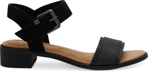TOMS Leather with Suede Camilia Sandals - Women's