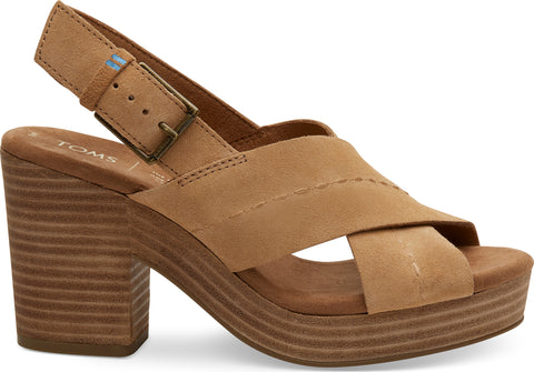 TOMS Suede Ibiza Sandals - Women's