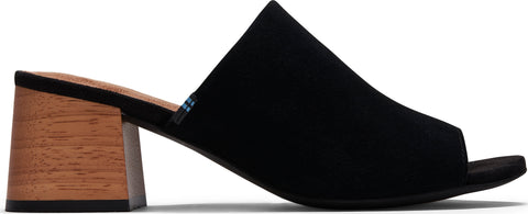 TOMS Grace Mule Suede Sandals - Women's