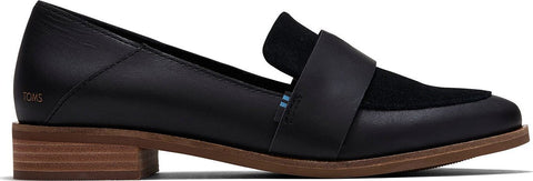 TOMS Estel Loafers Leather and Suede - Women's