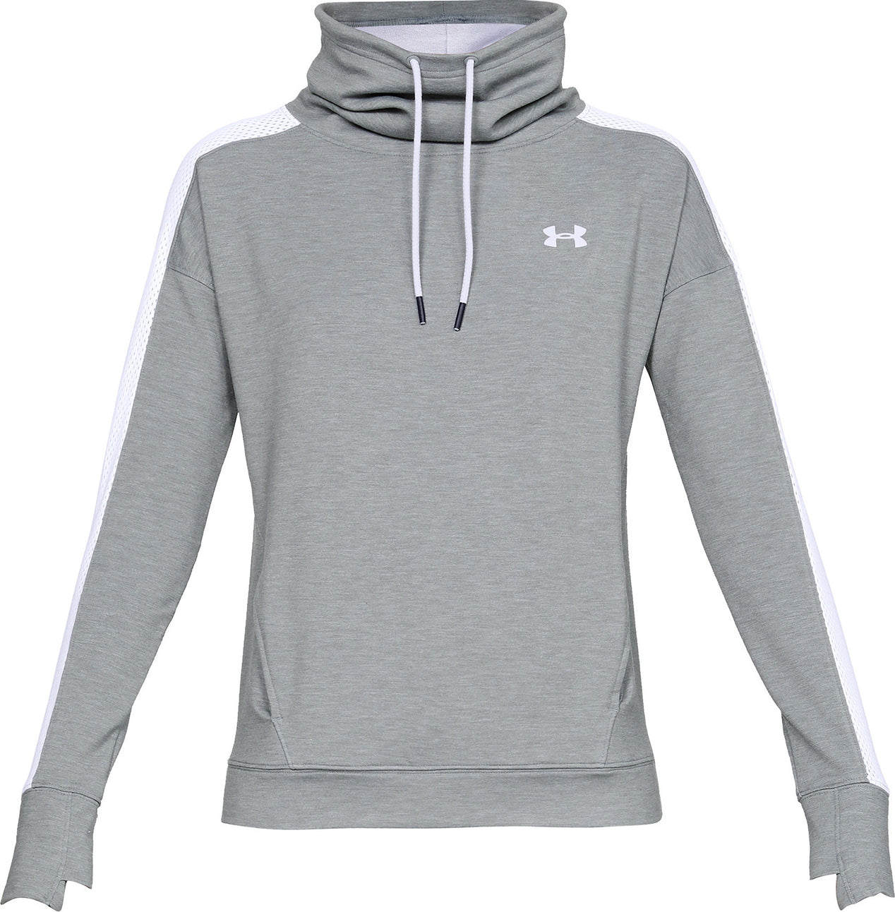 free shipping d08ba 758ea Under Armour Women s Featherweight Fleece Funnel Neck