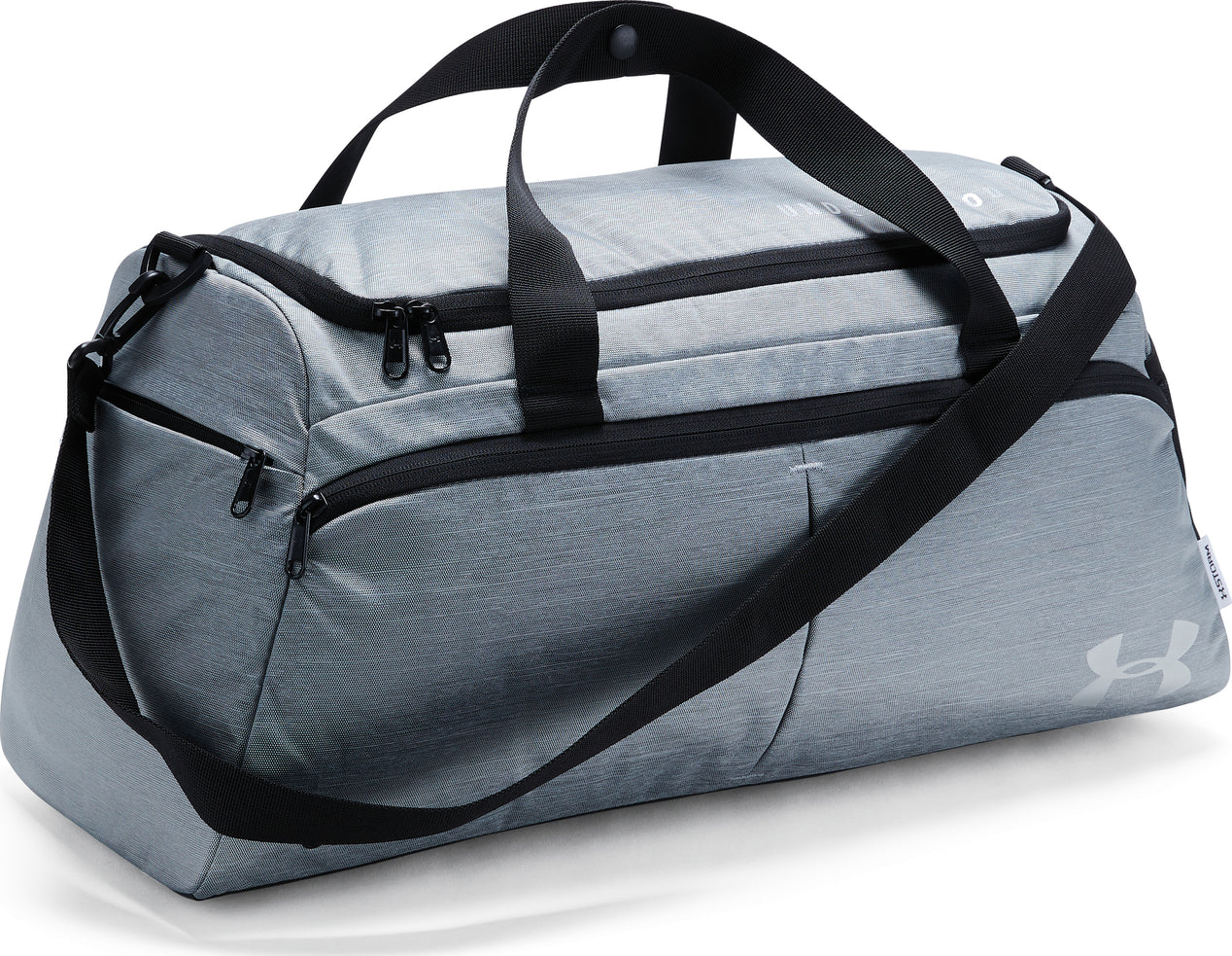 UA Undeniable Duffle Bag - Women s Black Full Heather - Black - Metallic  Cristal Gold Afs ... 2bce0a5573934
