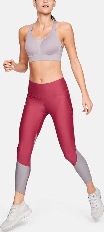 6d3bdade79205 Loading spinner Under Armour UA Armour Fly Fast Crop Legging - Women's  Impulse Pink - Tetra Gray -