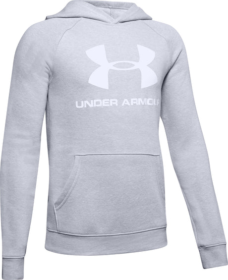 Under Armour Rival Logo Hoodie - Boys