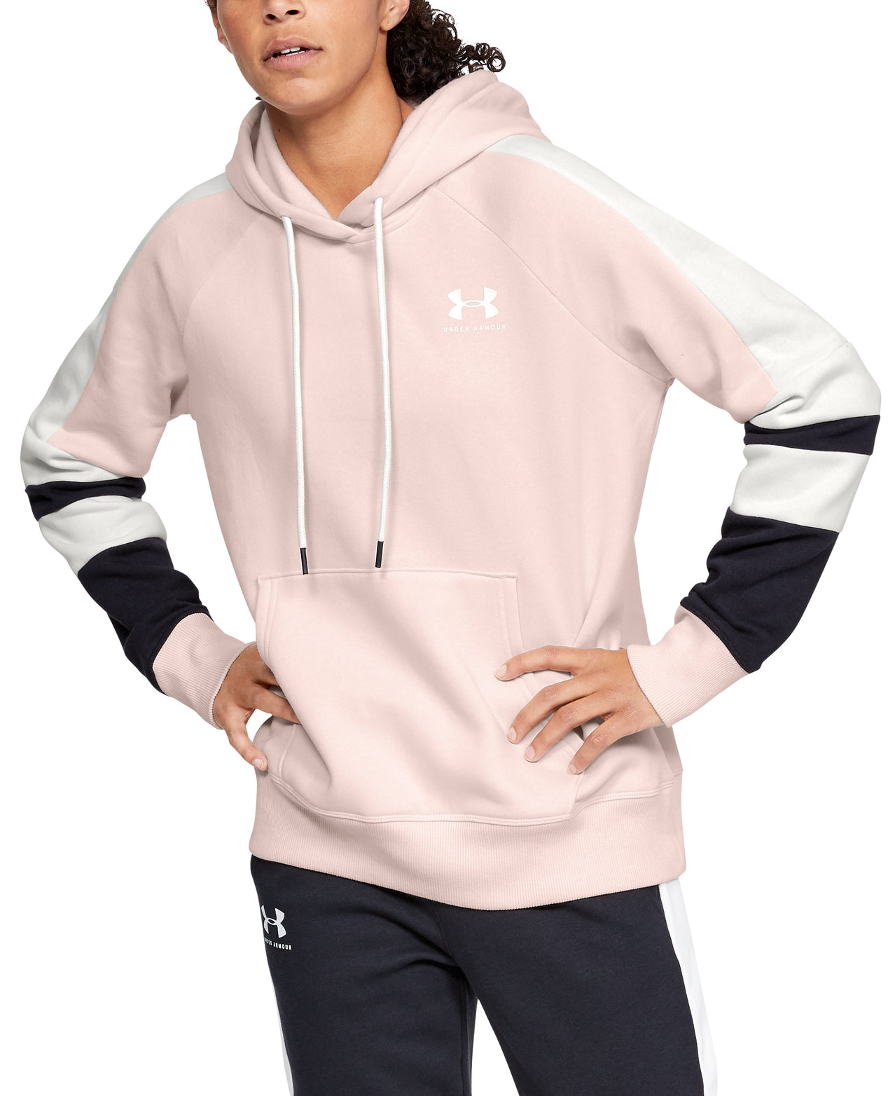 c512753b Under Armour Rival Fleece Lc Logo Hoodie Novelty - Women's