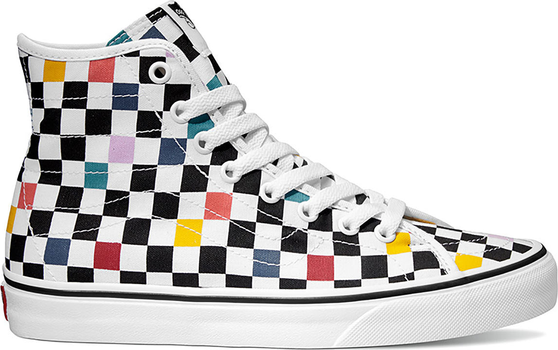 cbc38d4f78b Vans Unisex Party Checker Sk8-hi Decon