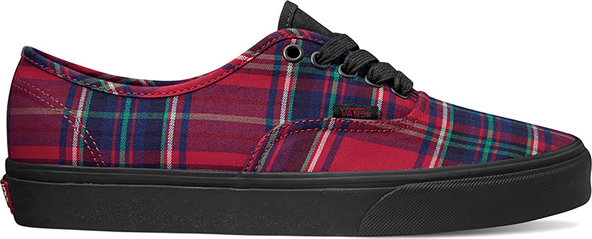 ecc81d2228ce84 Vans Unisex Plaid Mix Authentic Shoes