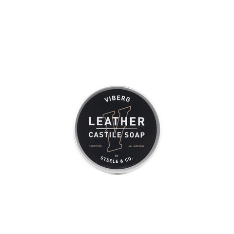 Viberg Leather Castile Soap