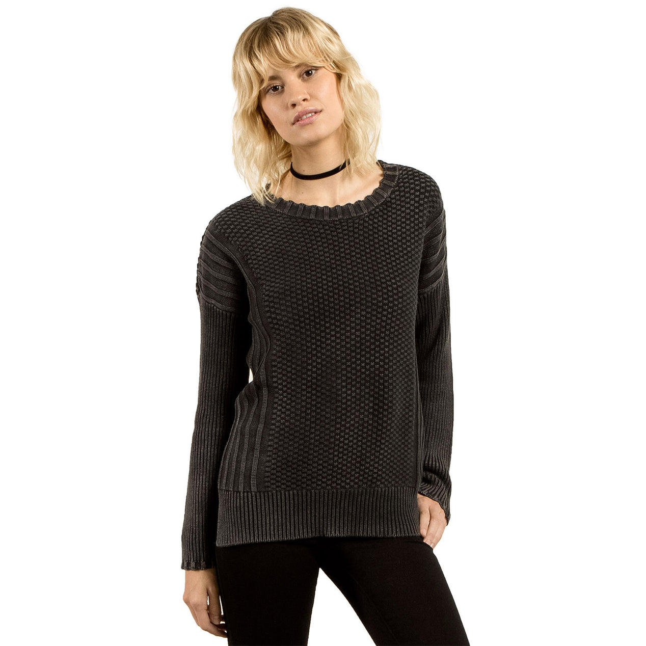 d18991c78e0 Volcom Women s Twisted Mr Sweater