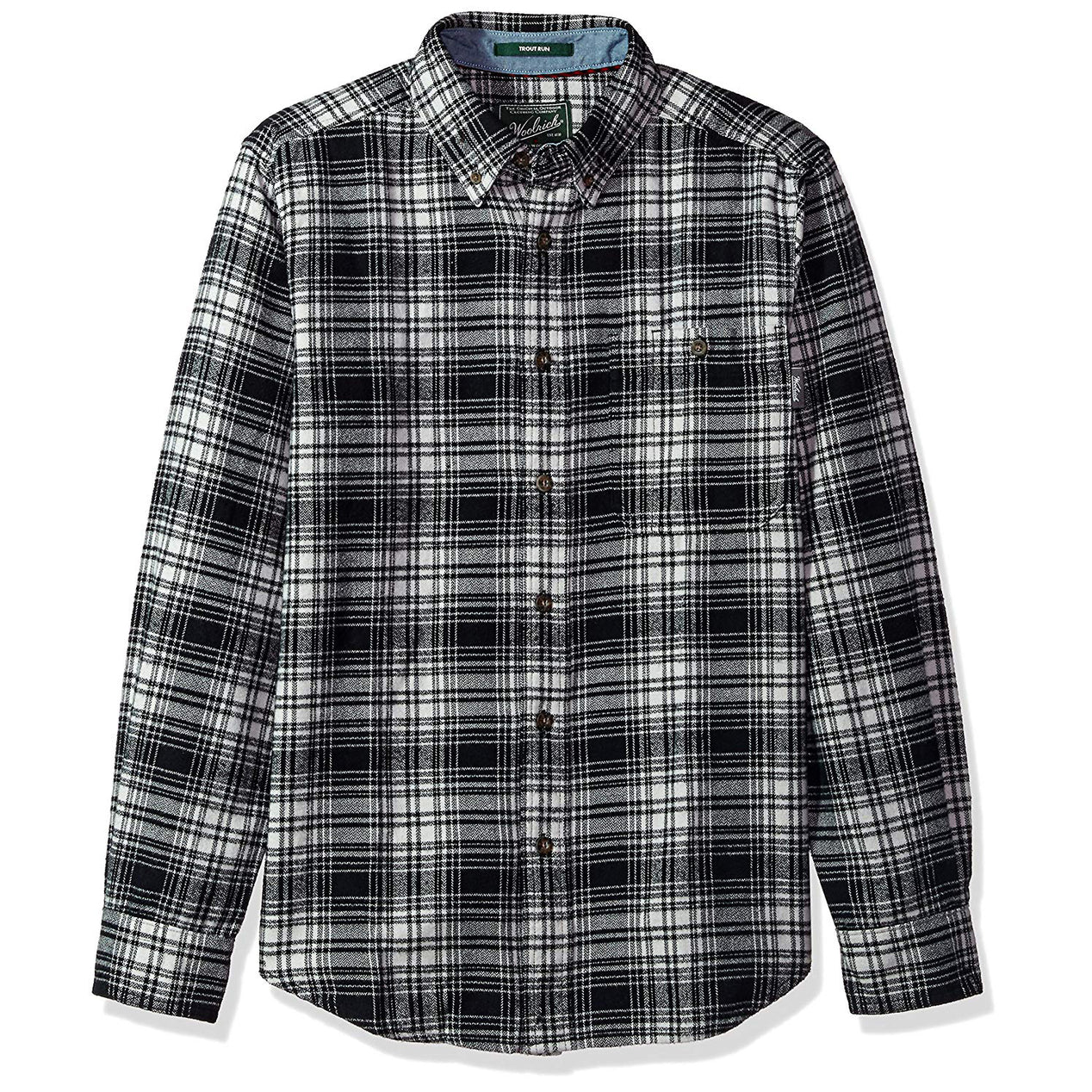 Woolrich Men S Trout Run Plaid Flannel Shirt Modern Fit Altitude
