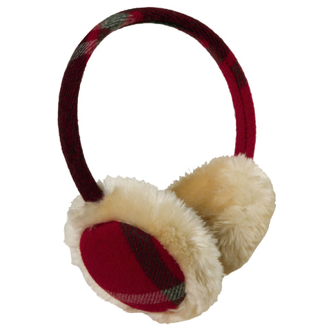Woolrich Women's Adjustable Wool Blend Earmuffs