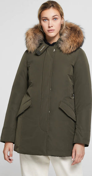 Woolrich Luxury Arctic Parka With Raccoon Fur - Women's