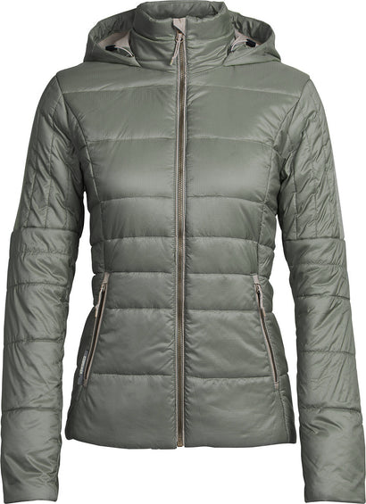 Icebreaker Stratus X Hooded Jacket - Women's