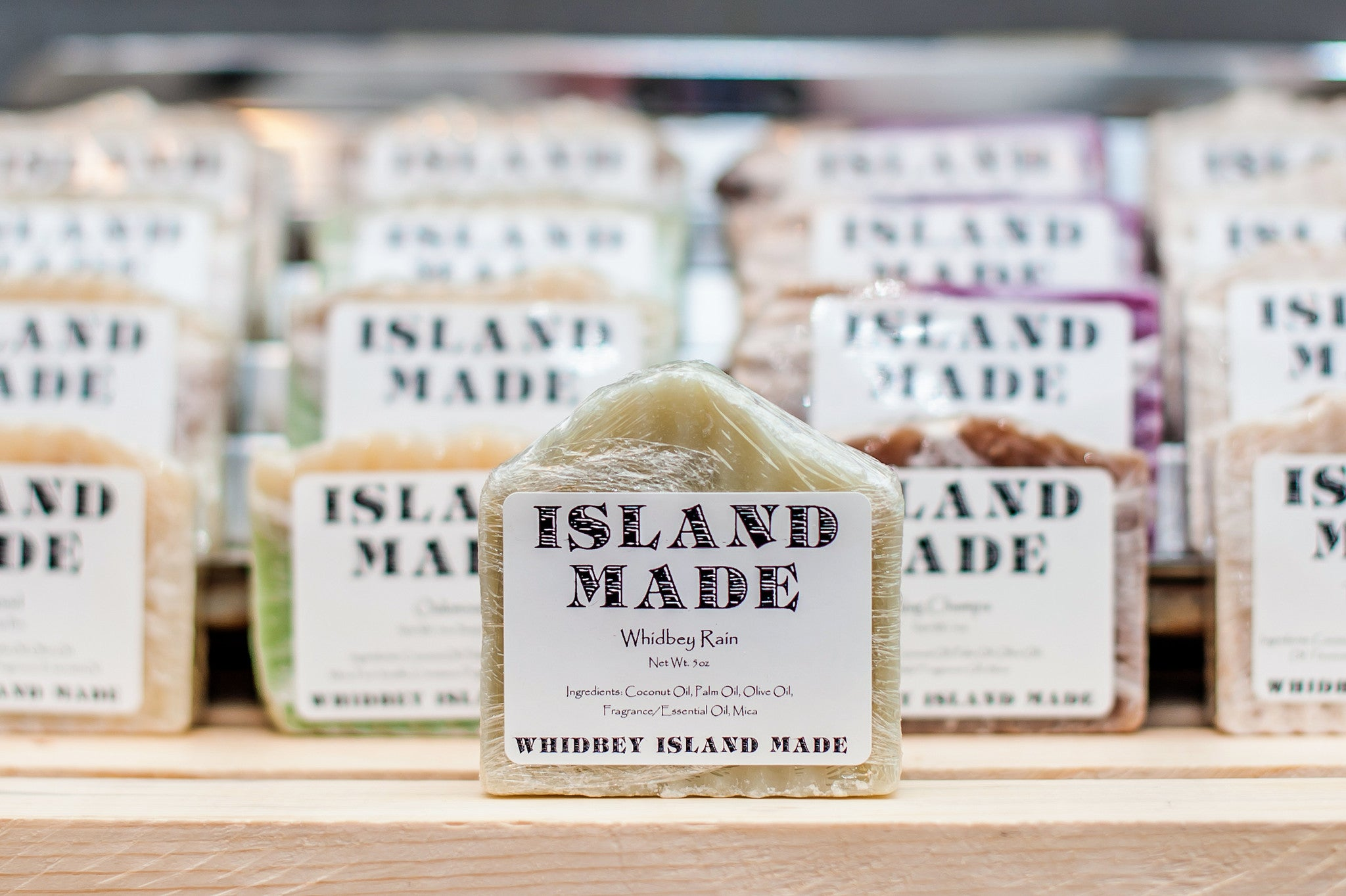Whidbey Rain - Island Made Soap - 5oz - Free Shipping