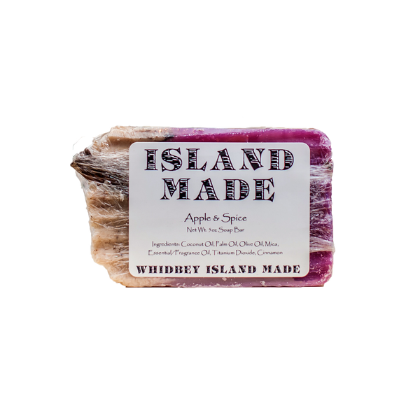 Apple & Spice - Island Made Soap - 5oz - Free Shipping