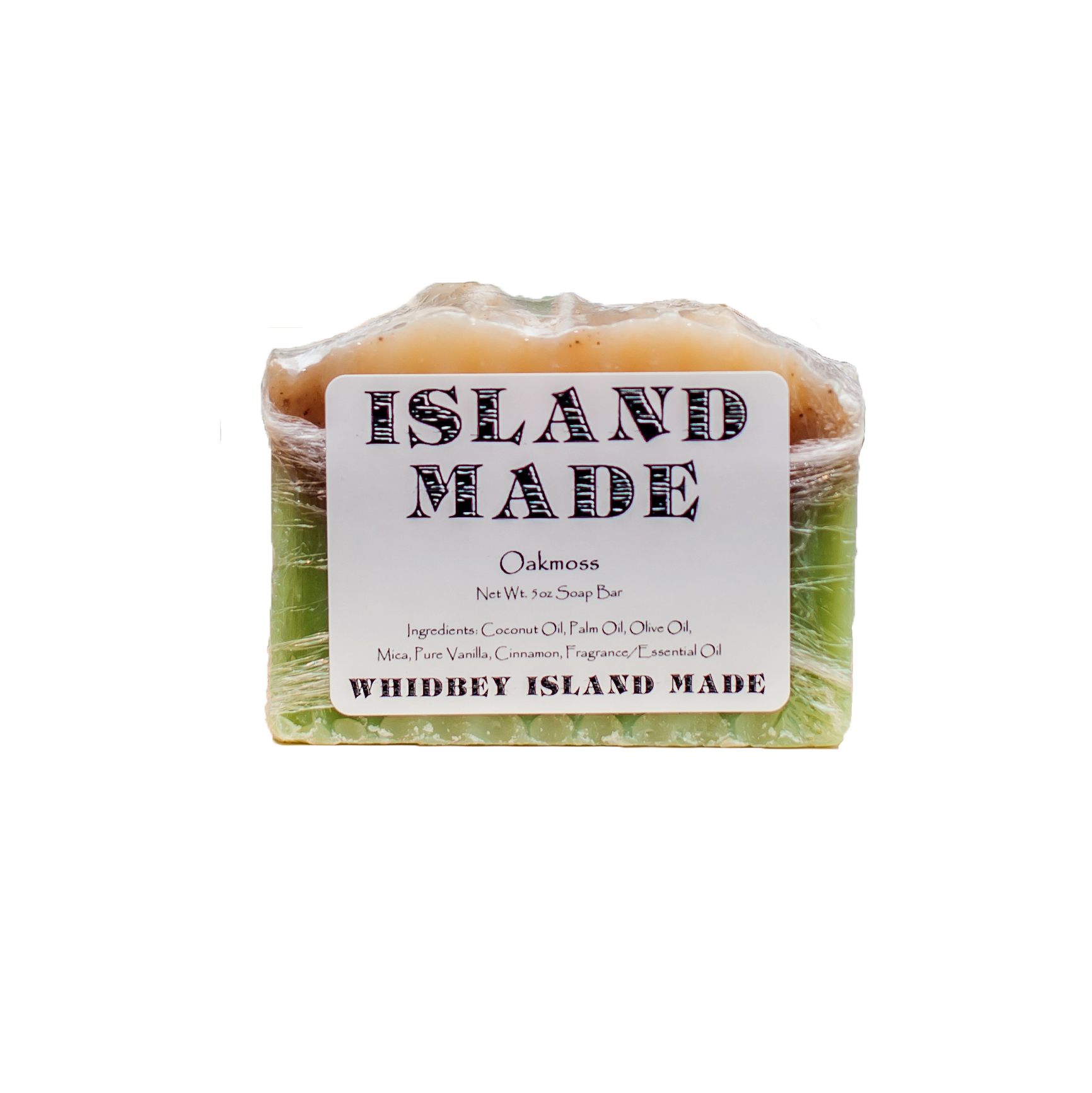 Oakmoss - Island Made Soap - 5oz - Free Shipping