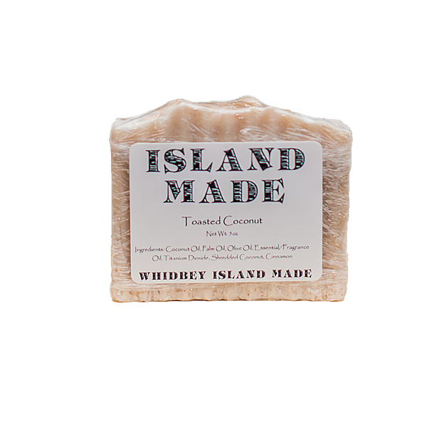 Toasted Coconut - Island Made Soap - 5oz - Free Shipping