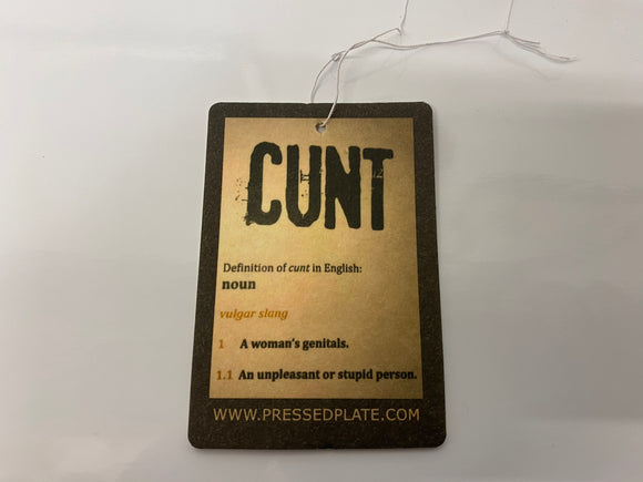 Cunt Obscene Air Freshener