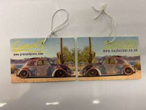 Europl8 X Hayburner Beetle Collaboration Air Freshener Limited Edition