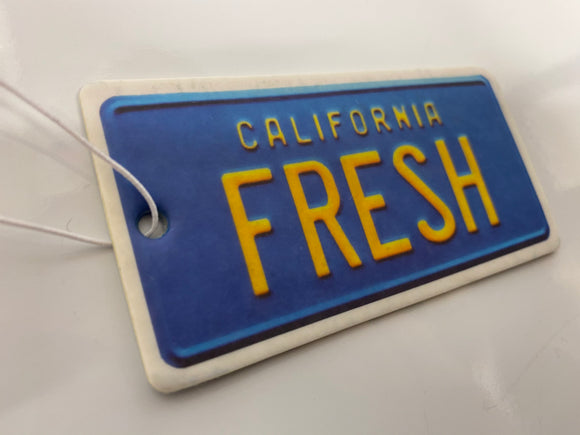 California Fresh Will Smith Fresh Prince inspired Air Freshener