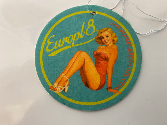 Europl8 Pin up Air Freshener