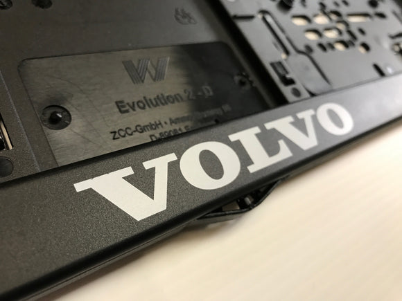 VOLVO Number Plate Surround Frame Holders