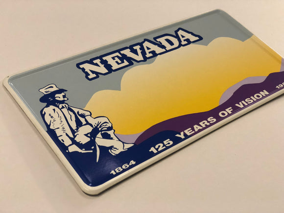 Nevada USA Style Pressed Plate