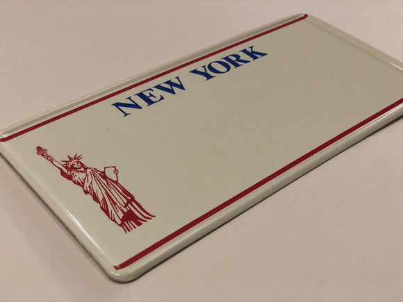 New York USA Style Pressed Plate