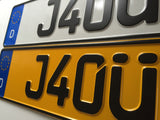 German Show Plates Standard Size PAIR
