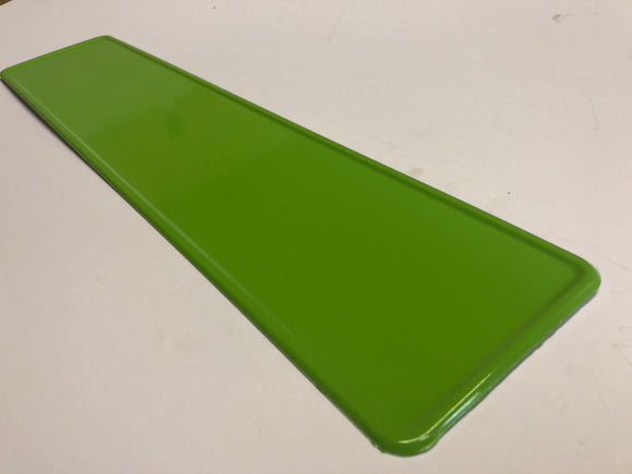 Apple Green Coloured Show Plate PAIR