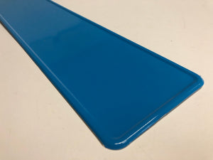 Baby Blue Coloured Show Plate SINGLE