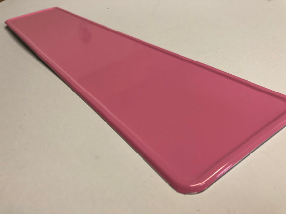 Baby Pink Coloured Show Plate SINGLE