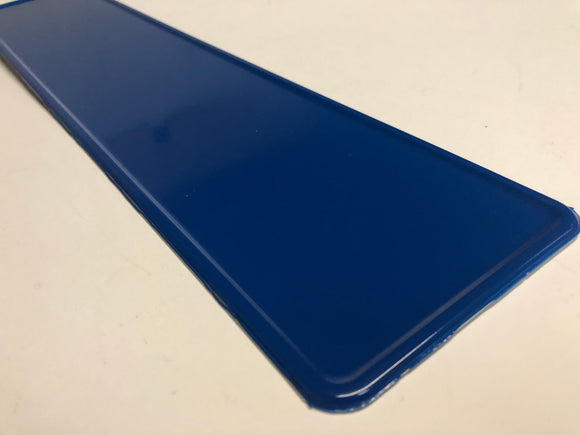 Blue Coloured Show Plate SINGLE