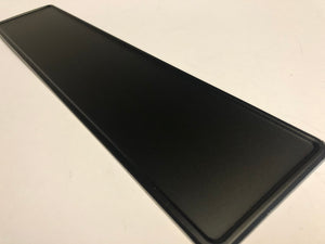 Reflective Black Coloured Show Plate SINGLE