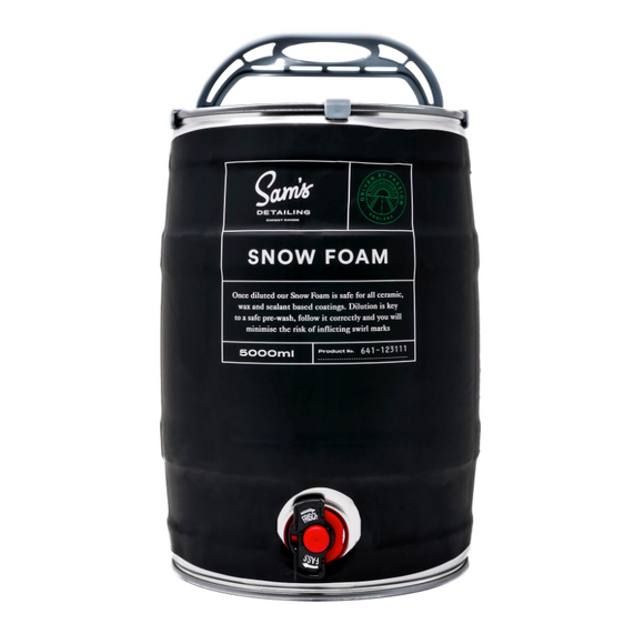 Sam's Snow Foam Keg