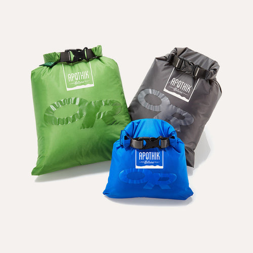 Apothik Nature + Outdoor Research Dry Bags